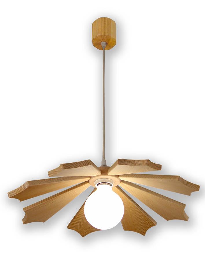 Luminaire en bois suspension for Luminaire en bois